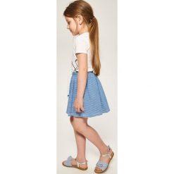 Spódniczka w paski - Niebieski. Niebieskie spódniczki dziewczęce Reserved, w paski. W wyprzedaży za 19,99 zł.