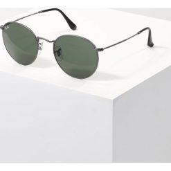 RayBan ROUND METAL Okulary przeciwsłoneczne gunmetal/crystal green. Szare okulary przeciwsłoneczne damskie marki Ray-Ban, z materiału. Za 529,00 zł.