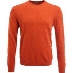 Swetry klasyczne męskie: Benetton Sweter orange