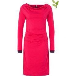 "Sukienki hiszpanki: Sukienka ""Raiven"" w kolorze fuksji"