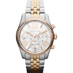 Zegarek MICHAEL KORS - Lexington MK5735 3T Silver/Rose/Gold. Szare zegarki damskie Michael Kors. Za 1150,00 zł.