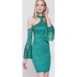 Sukienki hiszpanki: Zielona Sukienka Days of Our Lives