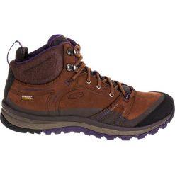 Buty trekkingowe damskie: Keen Buty damskie Terradora Leather WP Mid Scotch/Mulch r. 40.5 (1017751)