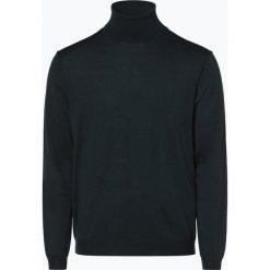 Finshley & Harding - Sweter męski, zielony. Zielone swetry klasyczne męskie marki QUECHUA, m, z elastanu. Za 129,95 zł.