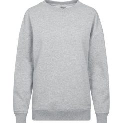 Bluzy rozpinane damskie: Urban Classics Ladies Oversize Crewneck Bluza damska odcienie szarego