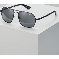 Superdry CITYLINE SUN Okulary przeciwsłoneczne matte navy/red/white/solid smoke. Niebieskie okulary przeciwsłoneczne męskie Superdry. Za 249,00 zł.