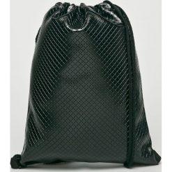 Answear - Plecak. Czarne plecaki damskie ANSWEAR, z materiału. W wyprzedaży za 47,90 zł.