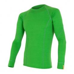 Sensor Koszulka Termoaktywna Z Długim Rękawem Merino Wool Active M Safari M. Zielone koszulki turystyczne męskie Sensor, m, z materiału, z długim rękawem. Za 215,00 zł.