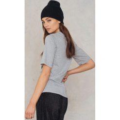 T-shirty damskie: BACK T-Shirt Box – Grey