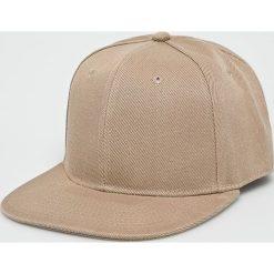 True Spin - Czapka Blank Snapback. Brązowe czapki z daszkiem męskie marki True Spin, z bawełny. W wyprzedaży za 59,90 zł.