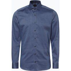 Olymp Level Five - Koszula męska łatwa w prasowaniu, niebieski. Niebieskie koszule męskie non-iron marki OLYMP Level Five, m, z klasycznym kołnierzykiem. Za 149,95 zł.