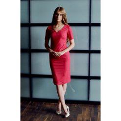 Sukienki: Sukienka Klio amarantowa 32