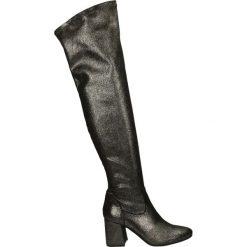 Kozaki - AB149914 CDF. Żółte buty zimowe damskie marki Venezia, ze skóry. Za 299,00 zł.