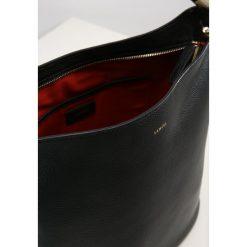 Lancel FLORE Torba na zakupy black. Czarne torebki klasyczne damskie Lancel. Za 2079,00 zł.