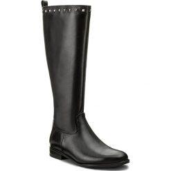 Oficerki KARINO - 2210/076-F Czarny/Lico. Fioletowe buty zimowe damskie marki Karino, ze skóry. W wyprzedaży za 339,00 zł.