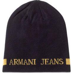 Czapka męska ARMANI JEANS - 934112 7A717 10235 Blu Navy/Giall. Czarne czapki damskie marki Armani Jeans, z jeansu. W wyprzedaży za 279,00 zł.