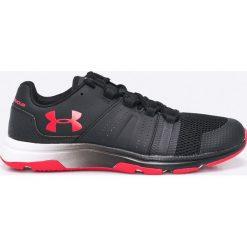 Under Armour - Buty UA Raid TR. Szare buty fitness męskie marki Under Armour, z materiału, na sznurówki. Za 299,90 zł.