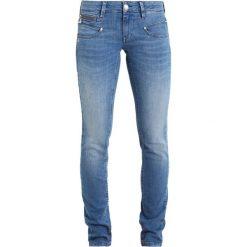 Freeman T. Porter ALEXA Jeansy Slim Fit nation. Niebieskie jeansy damskie marki Freeman T. Porter. W wyprzedaży za 413,10 zł.