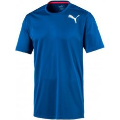 Puma Koszulka Sportowa Essential Ss Tee Lapis Blue Xl. Niebieskie koszulki do fitnessu męskie Puma, m, z materiału. W wyprzedaży za 69,00 zł.