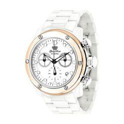 """Zegarki męskie: Zegarek """"0.96.2539"""" w kolorze biało-różowozłotym"""