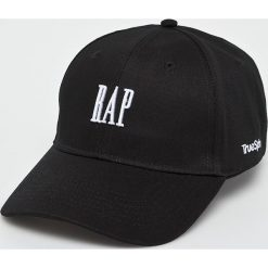 True Spin - Czapka Curved Rap. Czarne czapki z daszkiem męskie marki True Spin, z bawełny. W wyprzedaży za 49,90 zł.