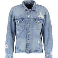 Kurtki męskie bomber: Cayler & Sons FLANNELED TRUCKER  Kurtka jeansowa light blue/sherpa