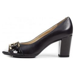 Geox Czółenka Damskie Annya Spuntato 36 Czarne. Czarne buty ślubne damskie Geox. W wyprzedaży za 369,00 zł.