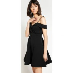 Sukienki hiszpanki: Czarna Sukienka I'm Looking