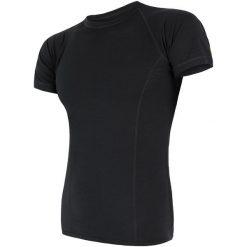 Sensor Koszulka Termoatywna Merino Air M Black L. Niebieskie odzież termoaktywna męska marki Oakley, na lato, z bawełny, eleganckie. Za 195,00 zł.