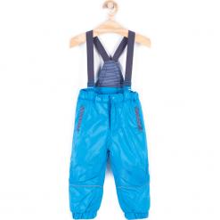 Spodnie. Niebieskie chinosy chłopięce HEY BOY, z poliesteru. Za 79,90 zł.