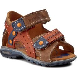 Sandały RENBUT - 11-1471 Pomarańcz. Brązowe sandały męskie skórzane marki RenBut. W wyprzedaży za 139,00 zł.