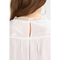 Bluzki asymetryczne: Kookai DENTELLE CROCHET Bluzka blanc