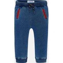 Mayoral - Spodnie dziecięce 68-98 cm. Niebieskie joggery męskie Mayoral, z bawełny. Za 79,90 zł.