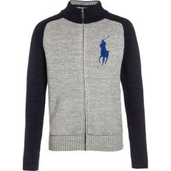 Swetry dziewczęce: Polo Ralph Lauren Kardigan grey heather/multicolor