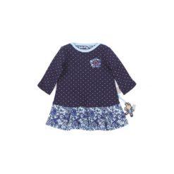 Sigikid  Girls Sukienka peacoat - niebieski - Gr.Moda (6 - 24 miesięcy ). Niebieskie sukienki niemowlęce marki SIGIKID, z bawełny. Za 139,00 zł.