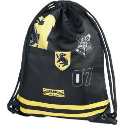 Harry Potter Hufflepuff Torba treningowa czarny/żółty. Czarne torebki klasyczne damskie Harry Potter, z nadrukiem, z nadrukiem. Za 62,90 zł.