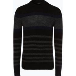 Selected - Sweter męski – Joe, czarny. Czarne swetry klasyczne męskie Selected, m, w prążki, z dzianiny. Za 249,95 zł.