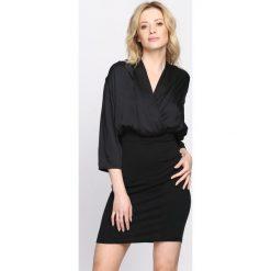 Czarna Sukienka Long Away. Czarne sukienki hiszpanki Born2be, s, mini. Za 69,99 zł.