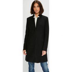 Silvian Heach - Płaszcz. Czarne płaszcze damskie pastelowe Silvian Heach, l, z elastanu, klasyczne. W wyprzedaży za 599,90 zł.