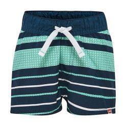 """Spodnie niemowlęce: Szorty kąpielowe """"Parkin"""" w kolorze granatowo-turkusowym"""