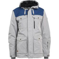 Quiksilver RAFT Kurtka hardshell grey heather. Niebieskie kurtki trekkingowe męskie marki Quiksilver, l. W wyprzedaży za 743,20 zł.