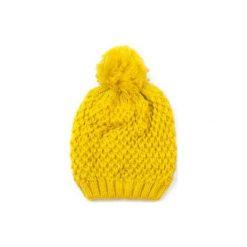 Czapka damska Pani zima zółta. Żółte czapki zimowe damskie marki Art of Polo, na zimę. Za 28,94 zł.
