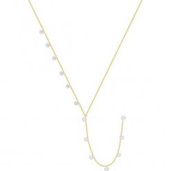 Pozłacany naszyjnik - (D)48 cm. Żółte naszyjniki damskie marki METROPOLITAN, pozłacane. W wyprzedaży za 169,95 zł.