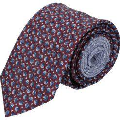 Krawaty męskie: krawat winman bordo classic 204