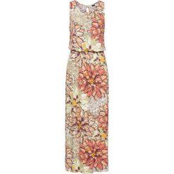 Sukienki: Długa sukienka z dżerseju bonprix z nadrukiem