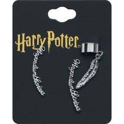 Harry Potter Wingardium Leviosa Kolczyki srebrny. Szare kolczyki damskie Harry Potter, srebrne. Za 62,90 zł.