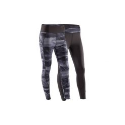 Legginsy do jogi YOGA+ 920 damskie. Czarne legginsy skórzane DOMYOS, l. Za 119,99 zł.