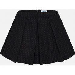 Mayoral - Spódnica dziecięca 128-167 cm. Czarne spódniczki dziewczęce Mayoral, z bawełny, mini. Za 119,90 zł.