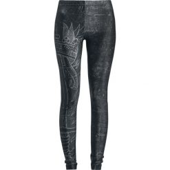 Gothicana by EMP Built For Comfort Legginsy czarny. Czarne legginsy Gothicana by EMP, xl. Za 99,90 zł.