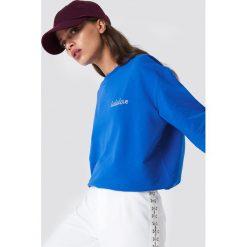 Moves Bluza Tessi-Lala - Blue. Niebieskie bluzy rozpinane damskie Moves, z nadrukiem, z długim rękawem, długie. Za 202,95 zł.